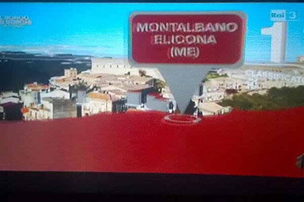 """Montalbano Elicona in festa, eletto """"Borgo dei Borghi 2015"""" su RAI 3"""
