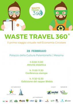 Messina Waste Travel 360°, domani conferenza stampa al Palacultura
