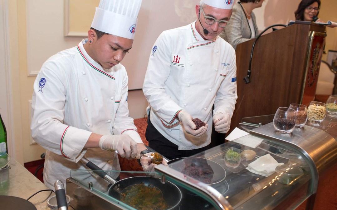 Arriva l'arancino che non fa invecchiare.. parola dello Chef messinese Pasquale Caliri