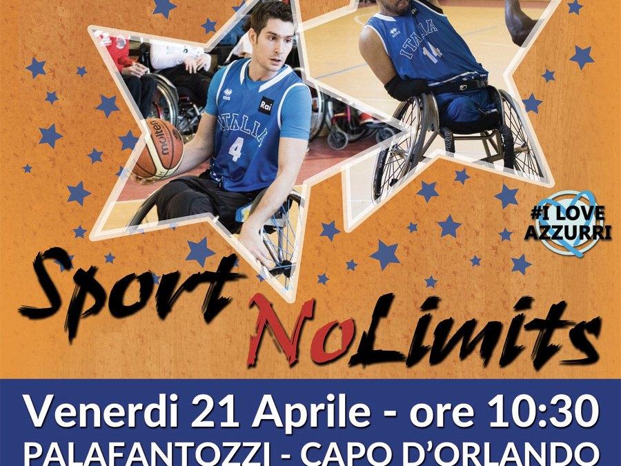 """Sport NoLimits"": al PalaFantozzi per abbattere le barriere"