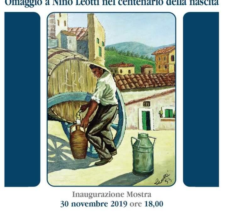 """Barcellona PG. La mostra """"Omaggio a Nino Leotti nel centenario della nascita"""" al Villino Liberty """"Foti-Arcodaci"""""""