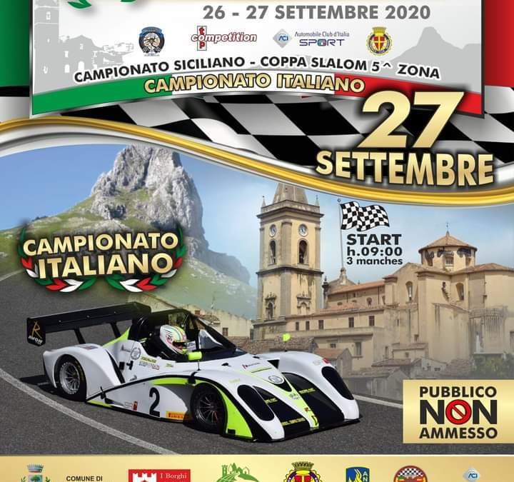 Il 25° Slalom Rocca Novara di Sicilia il 26 e 27 settembre. Ben 140 iscritti e tante iniziative collaterali nel Borgo