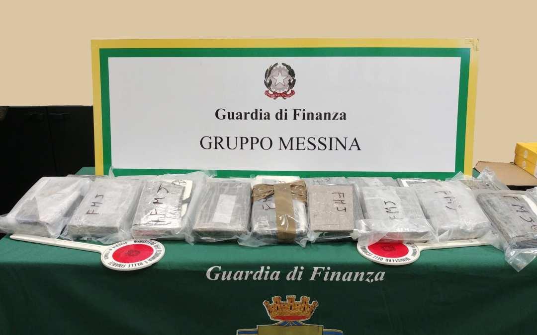 Messina. Maxi sequestro di cocaina agli imbarcaderi