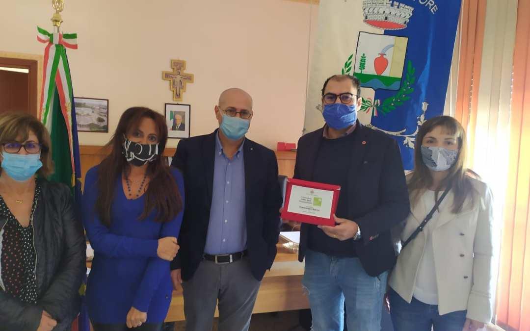 """Terme Vigliatore. """"Valori del territorio"""", premiati alunni meritevoli. Francesco Barca vince il I Concorso Video Spot Promozionale """"Termemia"""""""
