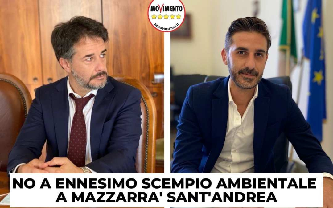 """Mazzarrà Sant'Andrea. M5S si oppone ad impianto a biometano: """"No ennesimo scempio ambientale"""""""