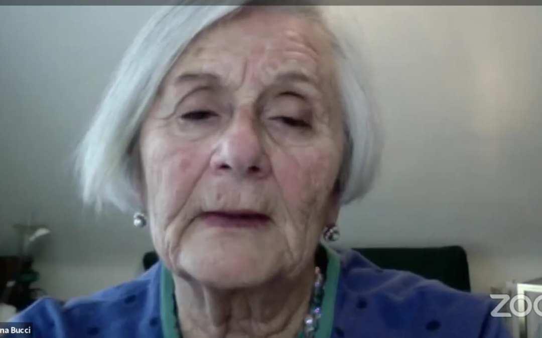 Barcellona PG. Gli alunni dell'I.C. D'Alcontres al webinar con Tatiana Bucci, superstite di Auschwitz