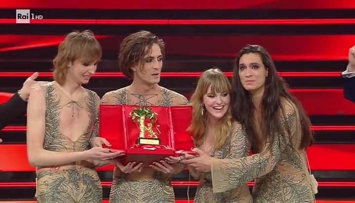 #Sanremo2021. I Maneskin vincono il Festival, trionfo del rock. A Willie Peyote il 'Premio della Critica'