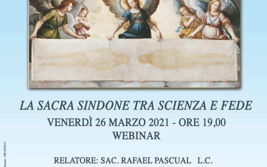 Soroptimist Club Milazzo. Il webinar 'La Sacra Sindone fra Scienza e Fede', relazionerà il Prof. S. Rafael Pascual