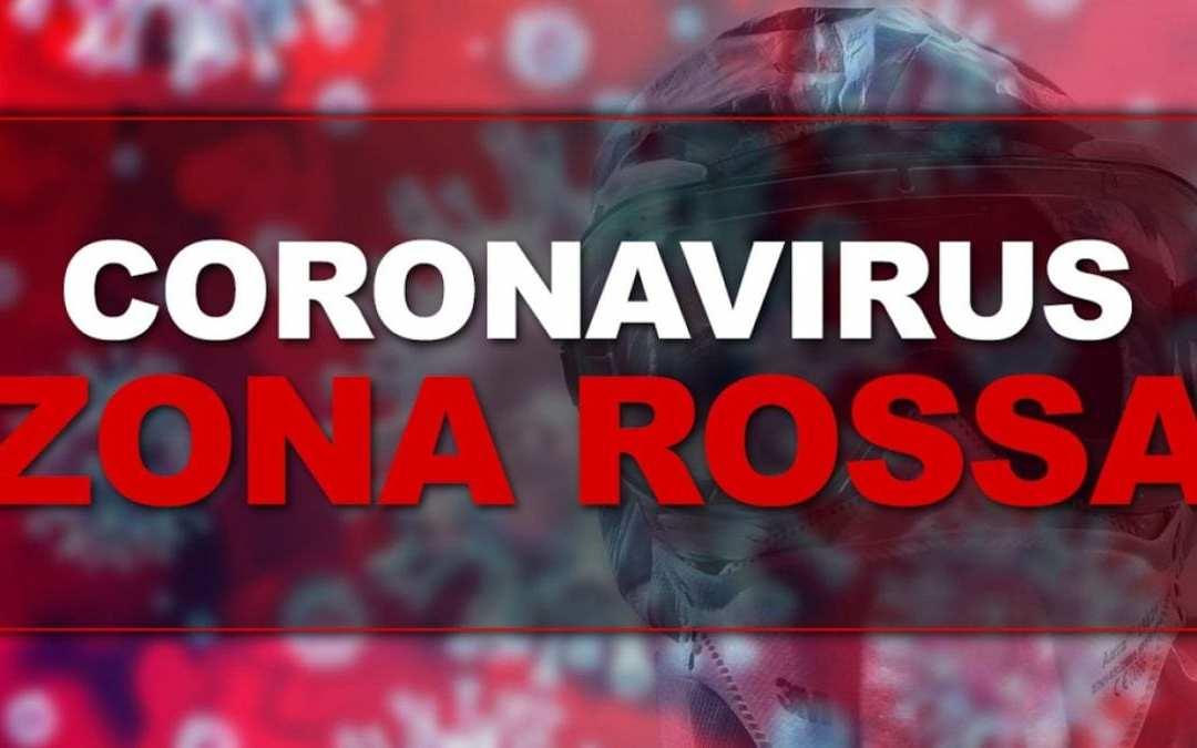 """Covid, due nuovi Comuni da domenica """"zona rossa"""""""
