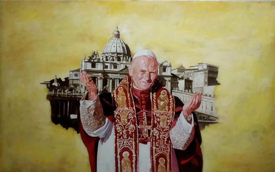 Barcellona PG. Inaugurazione dipinti dell'artista Salvo Sivario Castellese nella chiesa San Giovanni Paolo II di Portosalvo