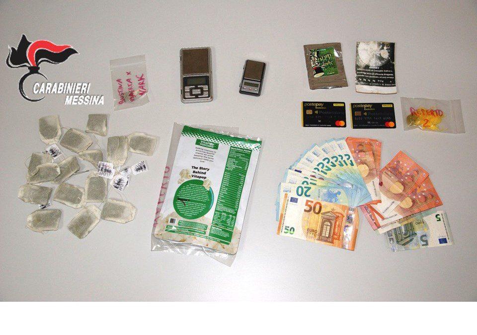 Barcellona PG. La piaga dei giovani attratti da 'spice' e maijuana, arrestata 22enne