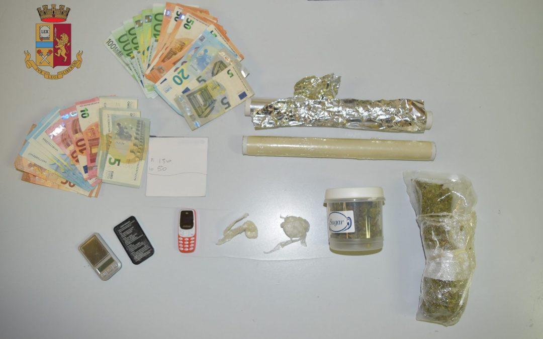 Messina. Sequestrata cocaina e marijuana, 24enne arrestato