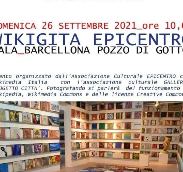 Barcellona PG. Wikigita al Museo Epicentro di Gala