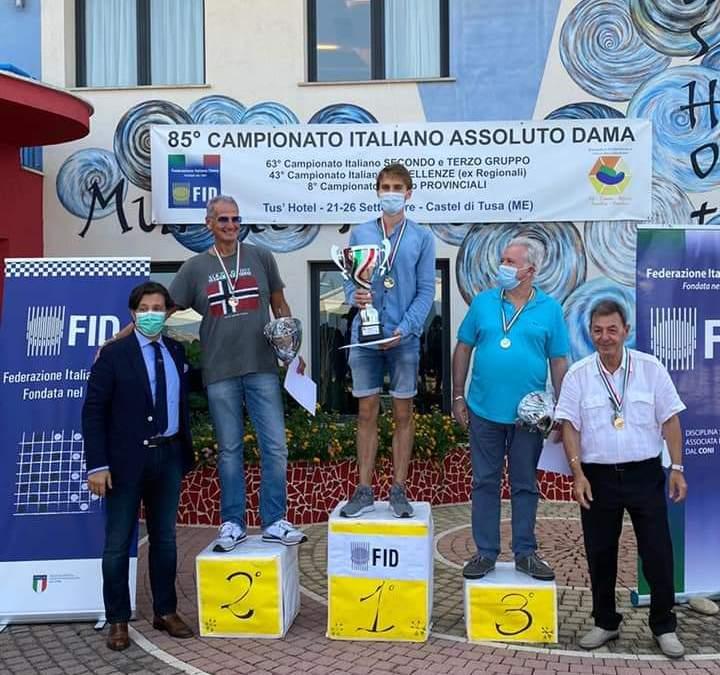 Castel di Tusa. Il messinese Michele Maijnelli ViceCampione Nazionale di Dama Italiana
