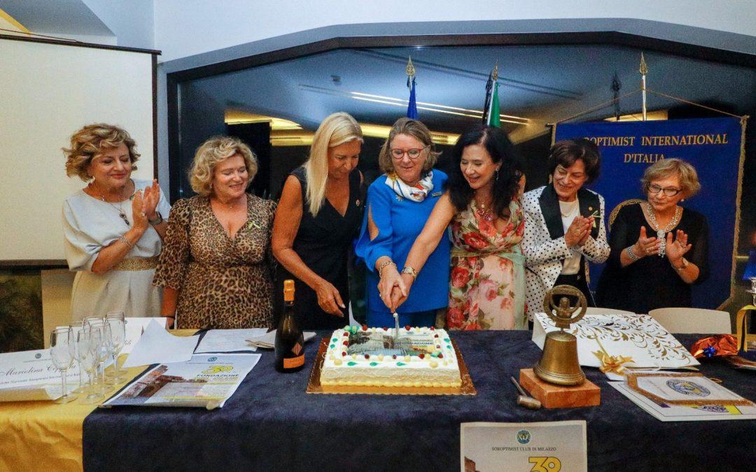 Soroptimist Club Milazzo, festeggiati i 30 anni dalla Fondazione