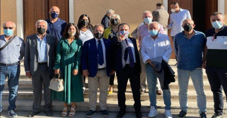 Viabilità provinciale. Cerimonia a Rodì Milici, il Sindaco metropolitano Cateno De Luca consegnati lavori per 6.400.000 euro