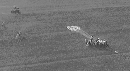 Manhigh 03 - Local de aterragem do voo Manhigh-II a 20 de Agosto de 1957