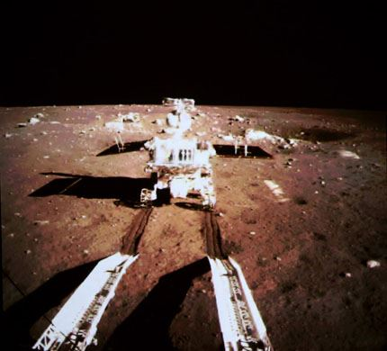 Yutu on the Moon