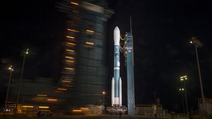 Delta II Rocket with SMAP
