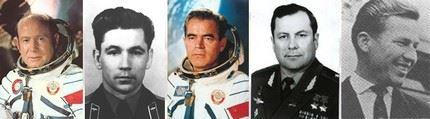 Primeiros cosmonautas 3