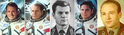 Primeiros cosmonautas 4