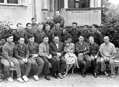 Primeiros cosmonautas