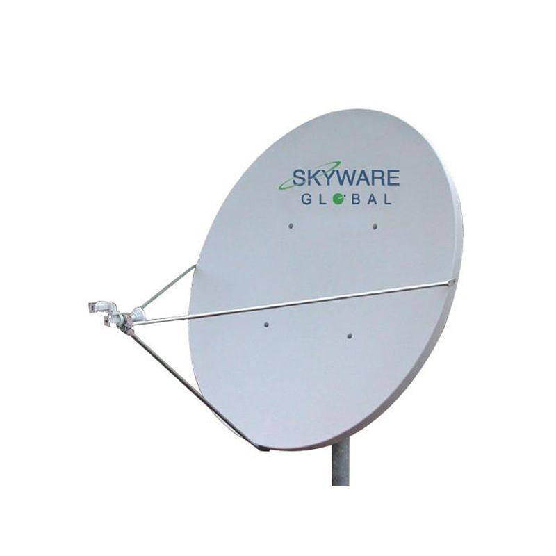 satellite offset 180 cm skyware fiber channel master professional