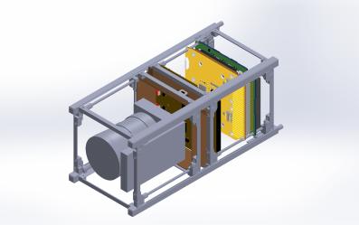 NITESat assembly CAD drawing