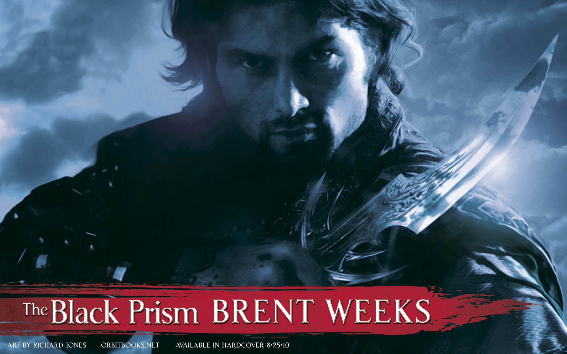 Just love this cover art for The Black Prism by Brent Weeks