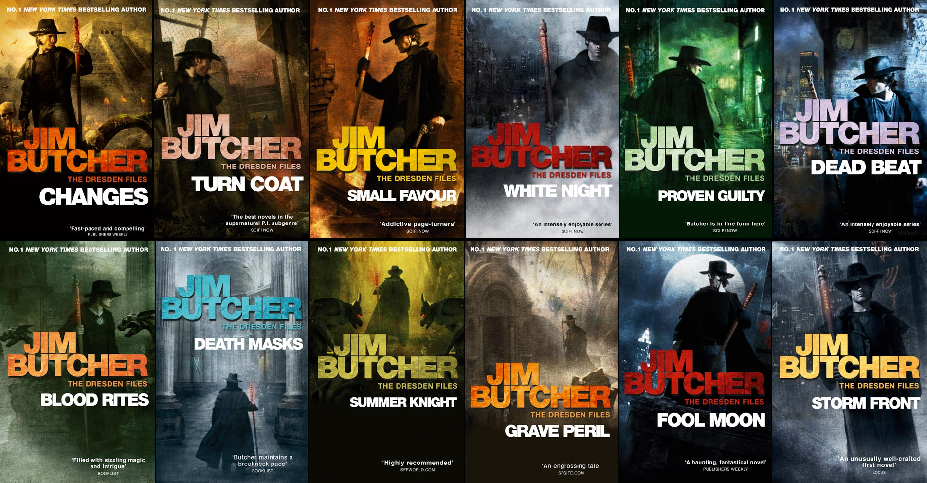 Image result for the dresden files books