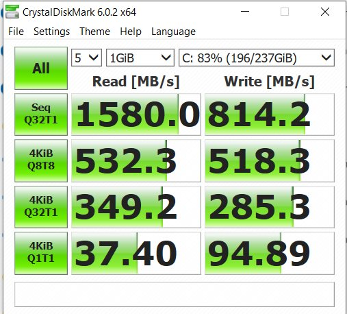Acer-Nitro-7 256 GB SSD