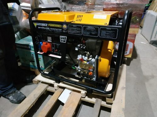 Forte FGD6500E3 air-cooled diesel generator