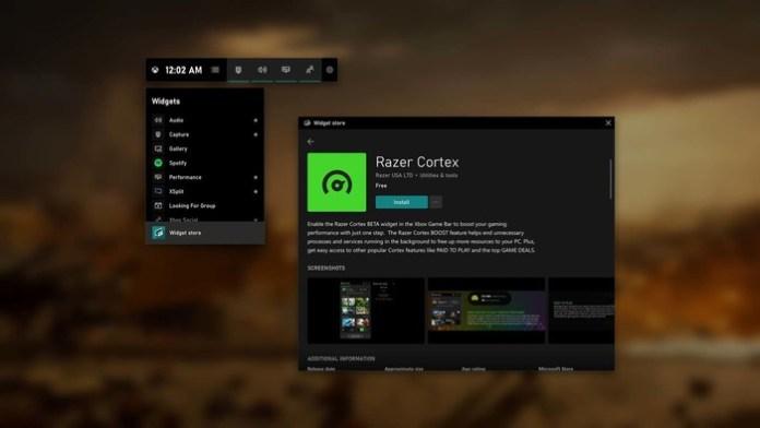 Microsoft,Razer,Xbox Game Bar,XSplit,