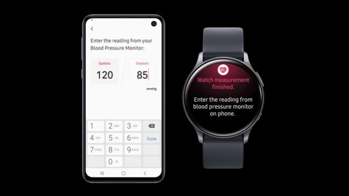 Samsung Galaxy Watch will be able to measure pressure