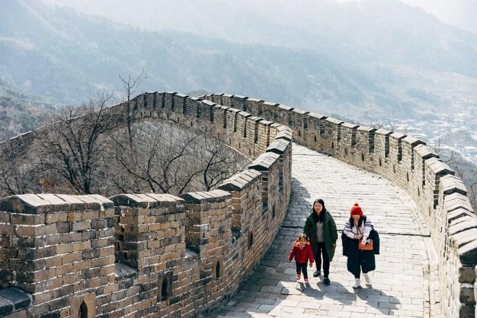 China Model. the great wall of China