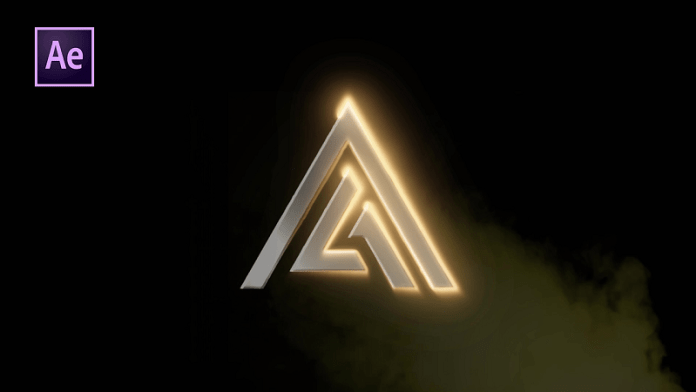 Gloss Metallic Logo Animation in After Effects - After Effects Tutorial