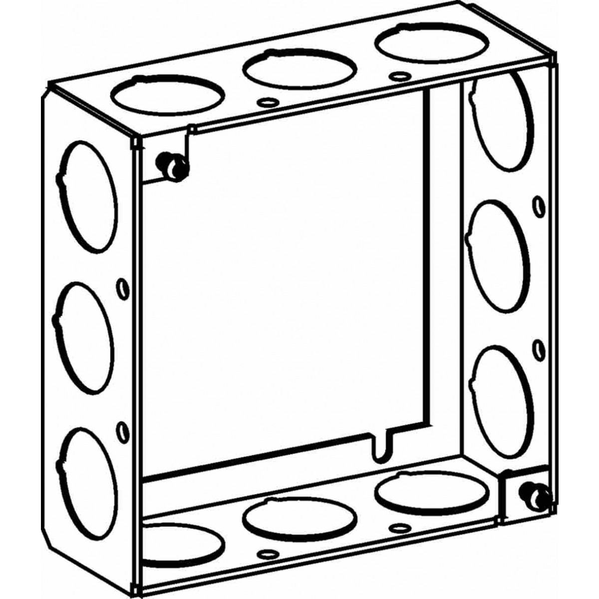 5 Inch Square Electrical Box