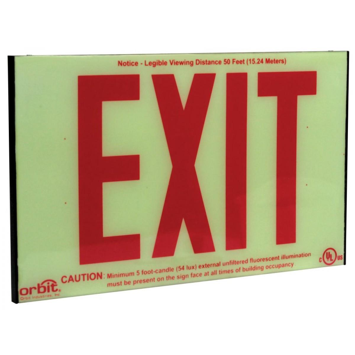 Emergency Exit Lights Battery Backup