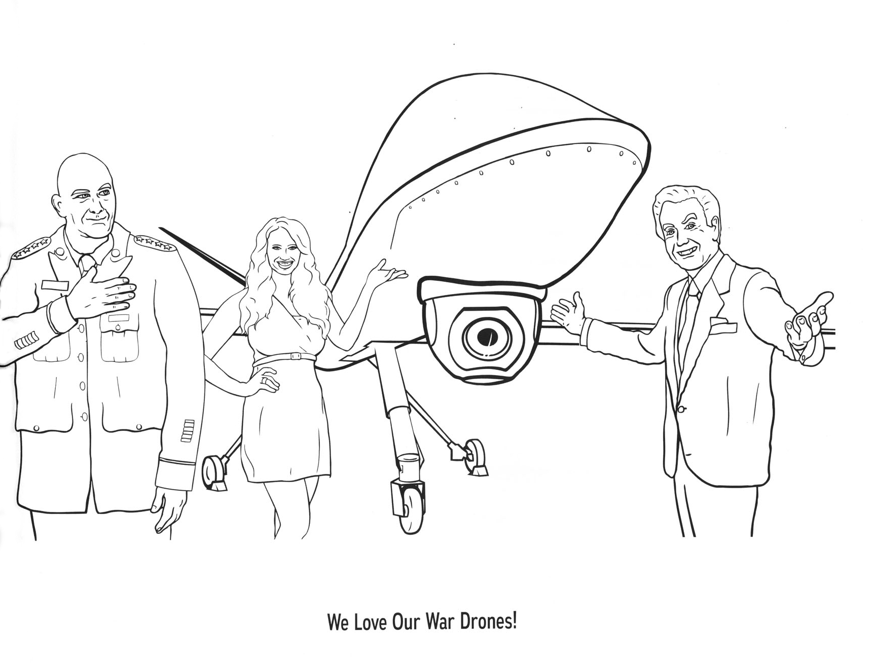 Color Me Drone Warfare By Jeff Lassahn