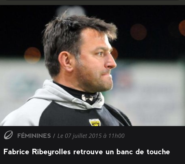 Fabrice Ribeyrolle - entraineur équipe seniors