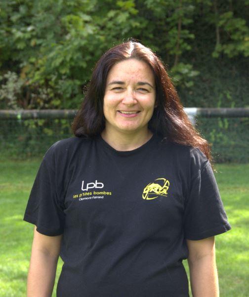 Valérie Bory - bénévole et joueuse