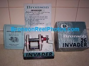 "Bronson ""Invader"" No.26 Reel"