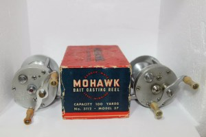 """Mohawk Zephyr Wate"" Reel No. 312.3600A Model 37 by Bronson E"