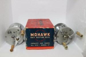 """""""Mohawk Zephyr Wate"""" Reel No. 312.3600A Model 37 by Bronson E"""