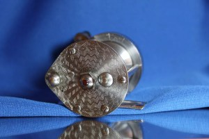 """X-pert"" Reel (Engraved Tear Drop Design) No.4151(?) by Bronson B"