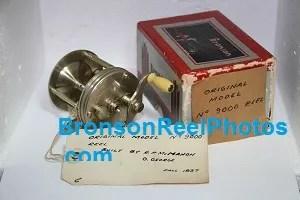 """X-pert Twenty"", RARE Bronson Factory Reel Prototype No.9000"