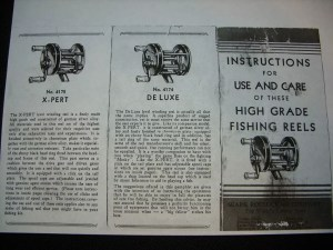 Bronson Reels Made For Sears