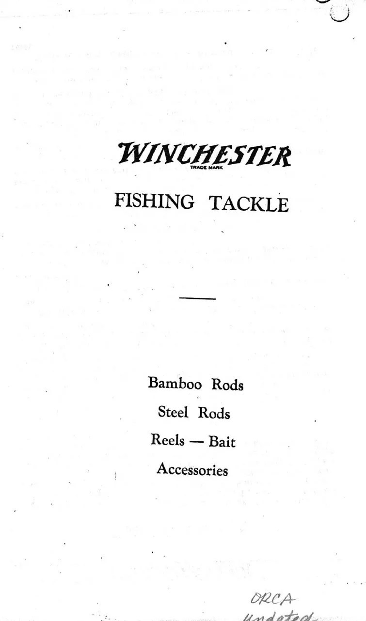 Winchester 1928 Catalog