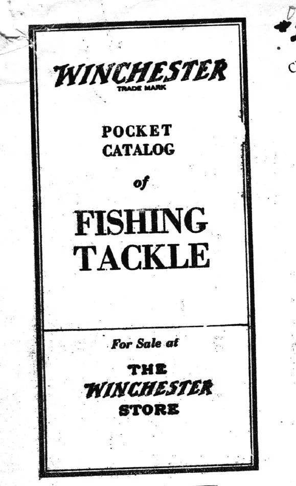 Winchester 1929 – 1930 Catalog – ORCA