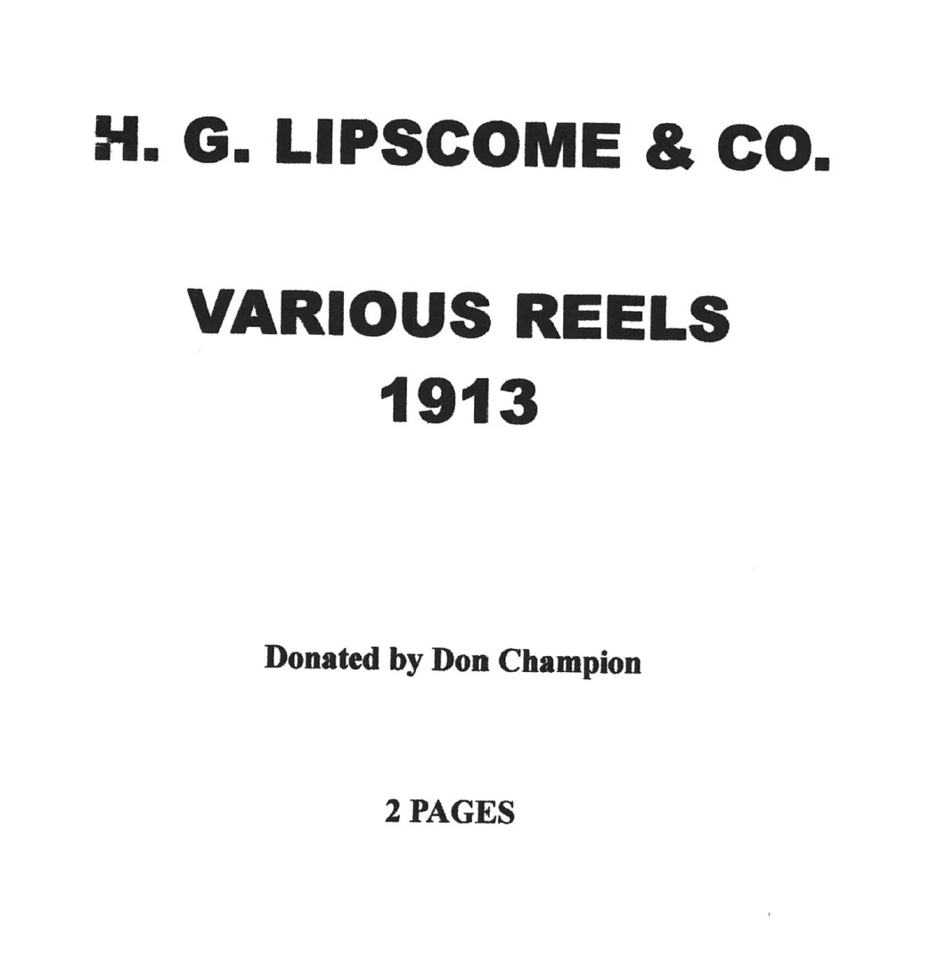 Lipscombe, H. G. & Co